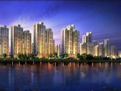 廊坊新中心崛起中的首开国风悦府生活区