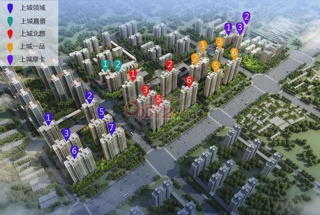 上城公馆·北郡/立体交通,尽享一城繁华!