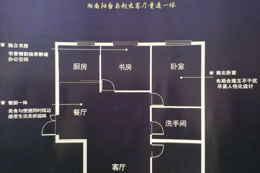 天水新城5号楼2室1厅1卫111平