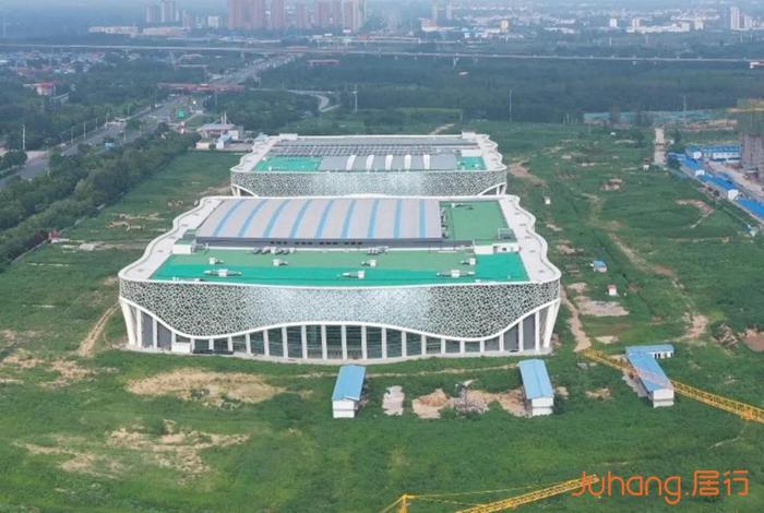 新地标崛起!新乡平原体育中心年底完成建设