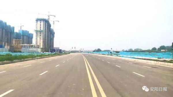 """8月底,安阳县(示范区)""""9纵9横4片区""""路网体系基本建成"""