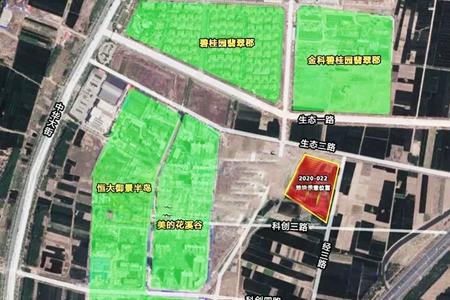 冀南新区科创城36亩住宅用地由邯郸熙盛地产以底价成交!