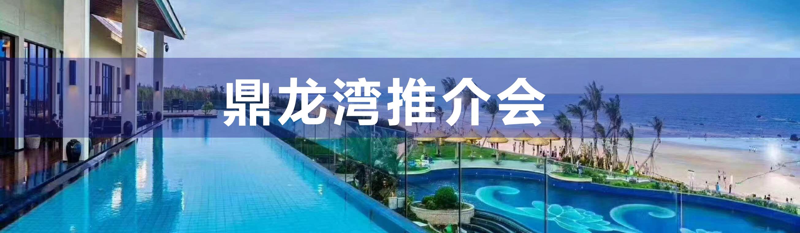 鼎龙湾国际海洋度假区——推介会圆满举行!!