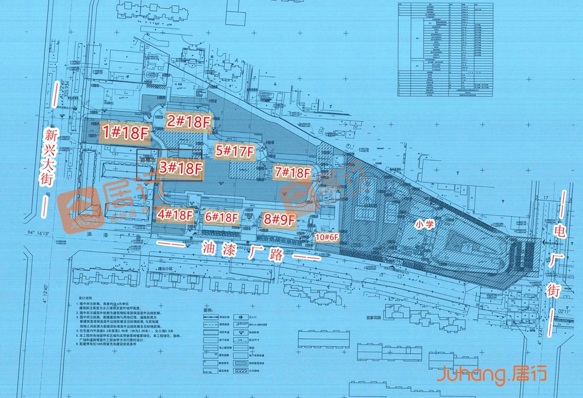 关于泽信尚苑项目的规划公示