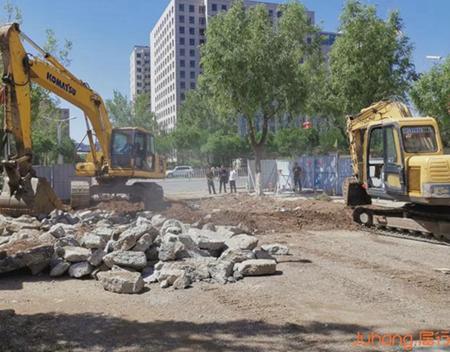 经开区明珠东路开工建设